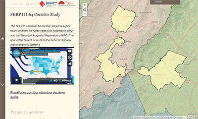 SHRP2 Interstate 64 Corridor Study – CA-MPO